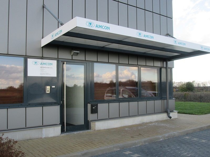 April 2011. Gründung der Tochterfirma AMCON Europe s.r.o. in Europa.