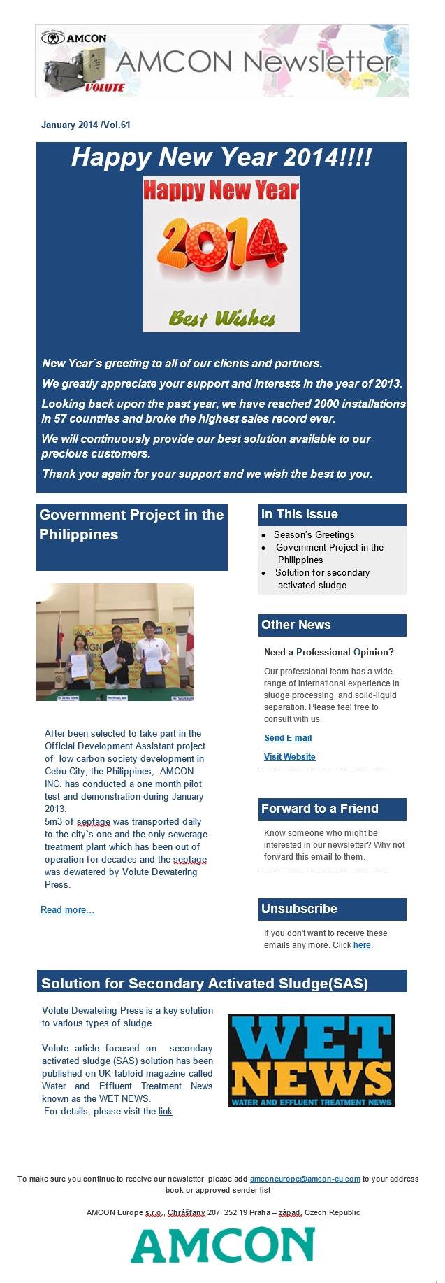 Newsletter 1-2014