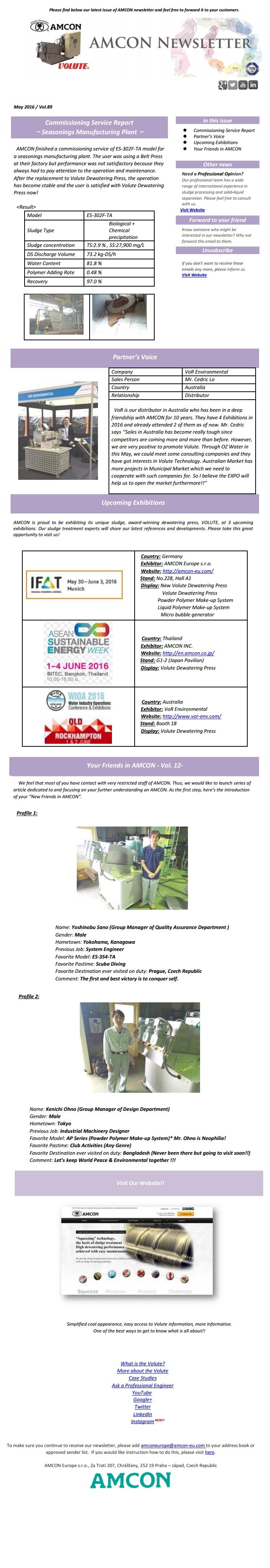 Newsletter 5-2016