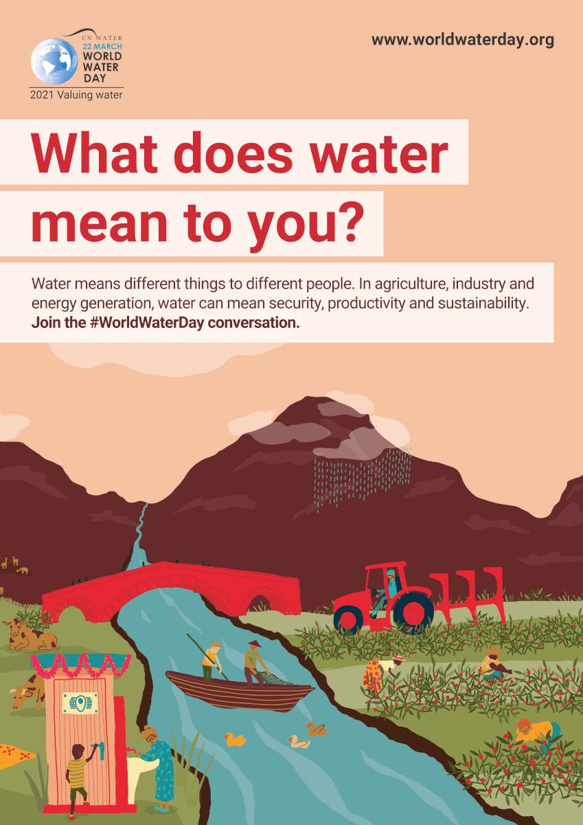 Amcon Deutschland, Weltwassertag 2021